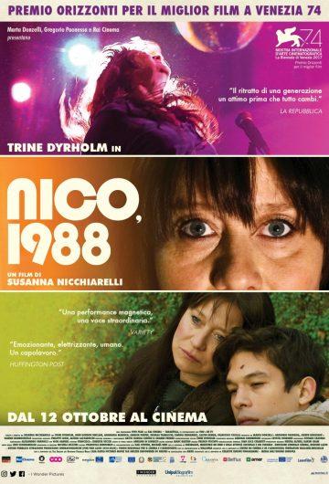 Nico, 1988 locandina